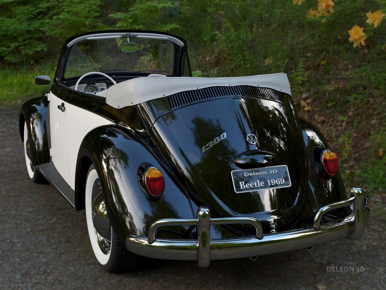 volkswagen bogár átváltható 3d modell max fbx c4d lxo ma mb obj 300896