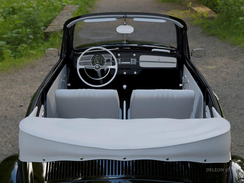 volkswagen bogár átváltható 3d modell max fbx c4d lxo ma mb obj 300902