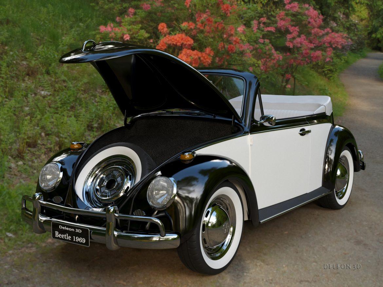 volkswagen bogár átváltható 3d modell max fbx c4d lxo ma mb obj 300904