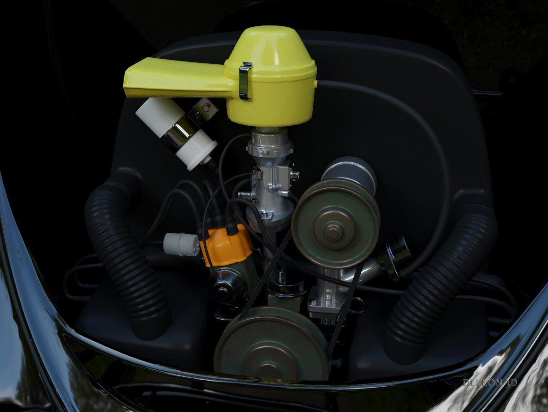 volkswagen bogár átváltható 3d modell max fbx c4d lxo ma mb obj 300907