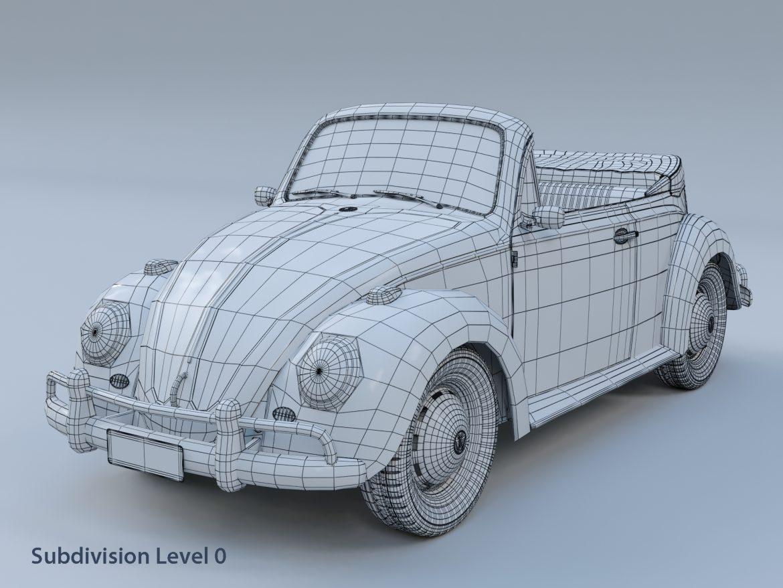 volkswagen bogár átváltható 3d modell max fbx c4d lxo ma mb obj 300908