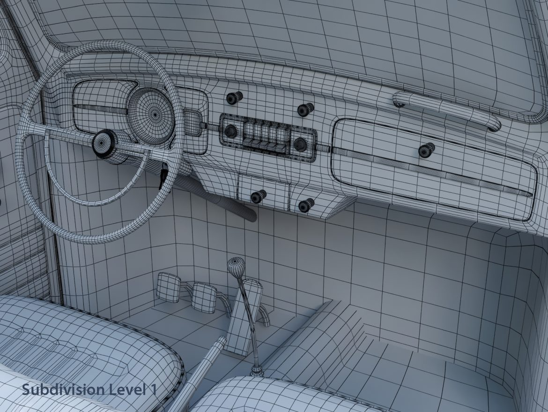 volkswagen bogár átváltható 3d modell max fbx c4d lxo ma mb obj 300913