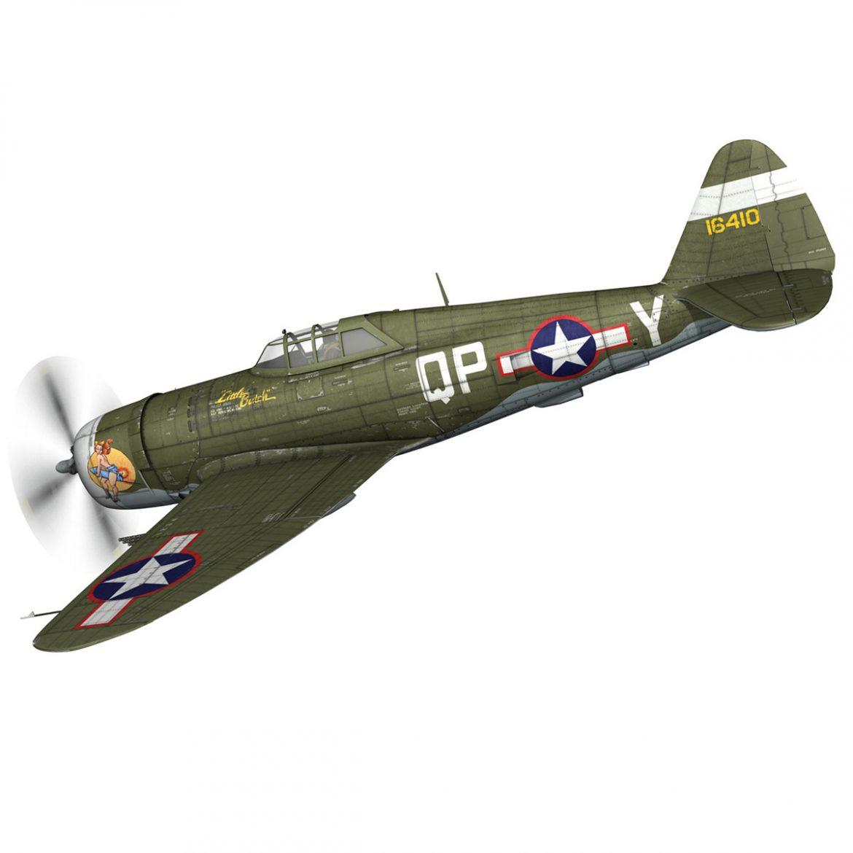 republic p-47c thunderbolt – little butch – qp-v 3d model 3ds fbx c4d lwo obj 301464