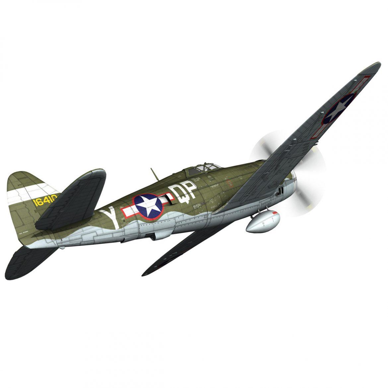 republic p-47c thunderbolt – little butch – qp-v 3d model 3ds fbx c4d lwo obj 301467