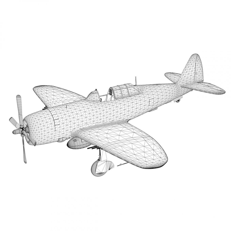 republic p-47c thunderbolt – little butch – qp-v 3d model 3ds fbx c4d lwo obj 301480