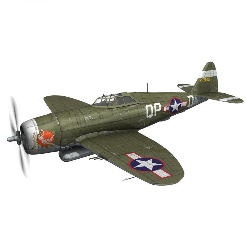 republic p-47d thunderbolt – miss plainfield 3d model 3ds fbx c4d lwo obj 301490