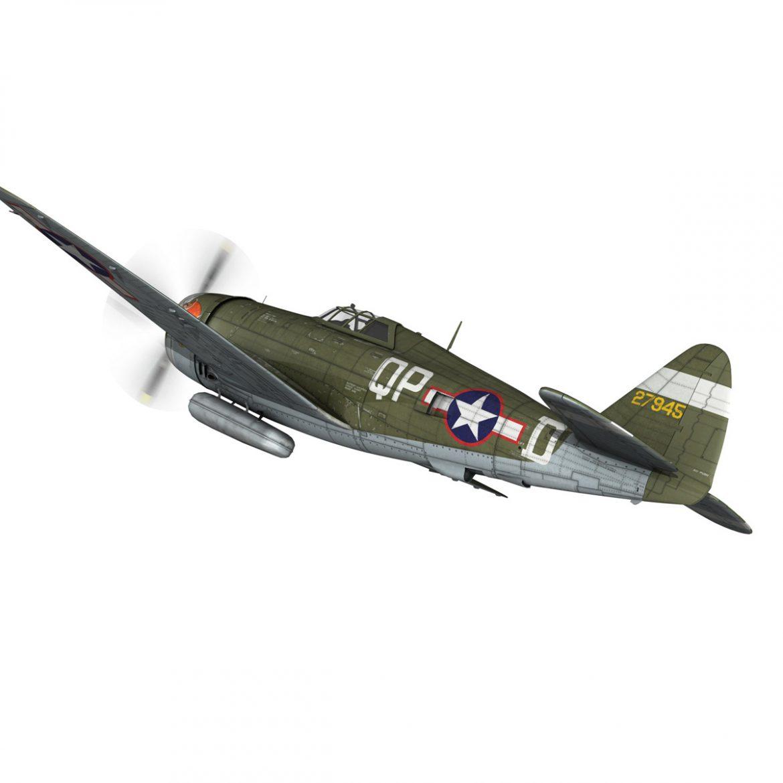 republic p-47d thunderbolt – miss plainfield 3d model 3ds fbx c4d lwo obj 301493