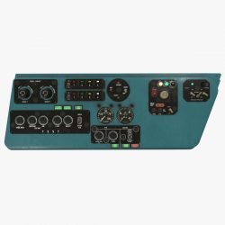 mi-8mt mi-17mt left side console english 3d model 3ds max fbx obj 301514
