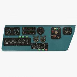 mi-8mt mi-17mt зүүн консол англи хэл 3d загвар 3ds max fbx obj 301514