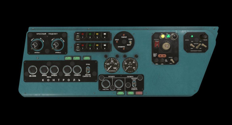 mi-8mt mi-17mt left side console russian 3d model 3ds max fbx obj 301550