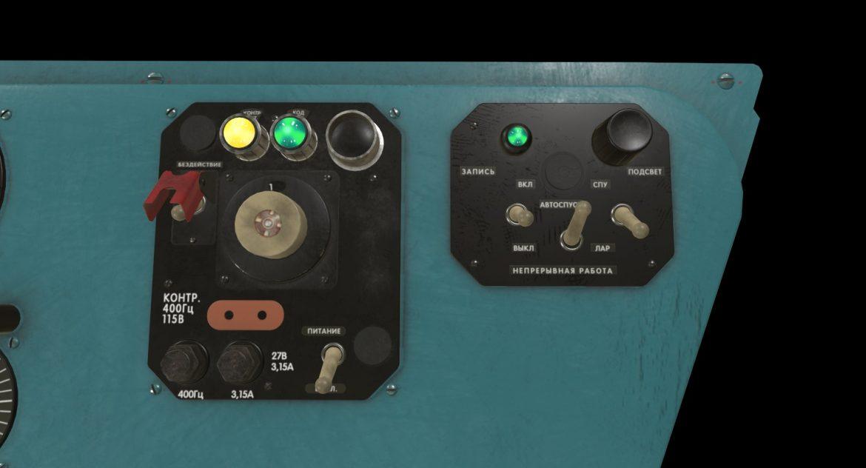 mi-8mt mi-17mt left side console russian 3d model 3ds max fbx obj 301553