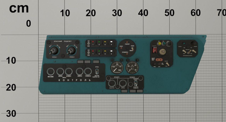 mi-8mt mi-17mt left side console russian 3d model 3ds max fbx obj 301558