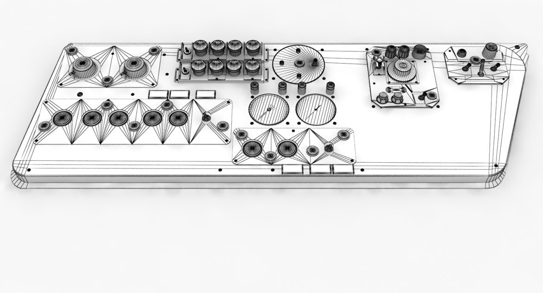 mi-8mt mi-17mt left side console russian 3d model 3ds max fbx obj 301560