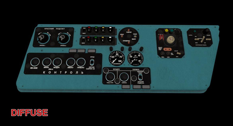 mi-8mt mi-17mt left side console russian 3d model 3ds max fbx obj 301566