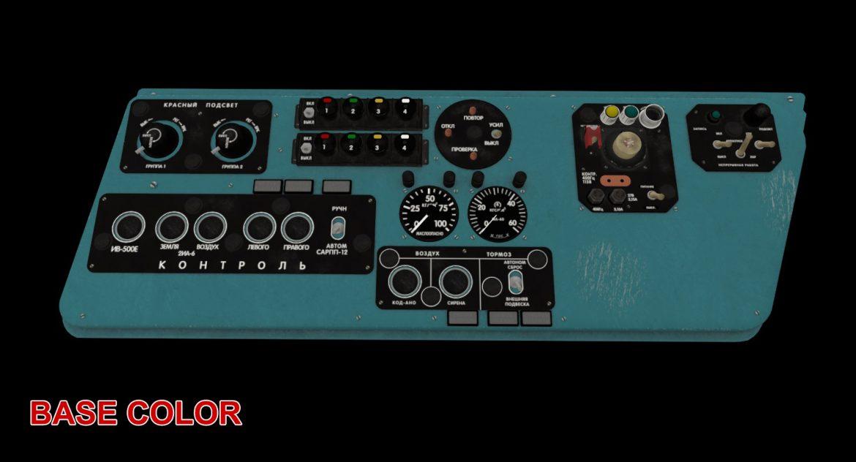 mi-8mt mi-17mt left side console russian 3d model 3ds max fbx obj 301569