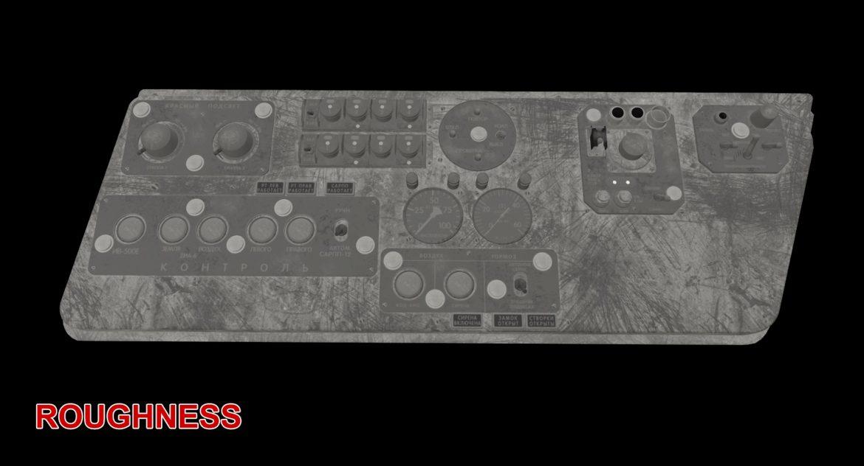 mi-8mt mi-17mt left side console russian 3d model 3ds max fbx obj 301572