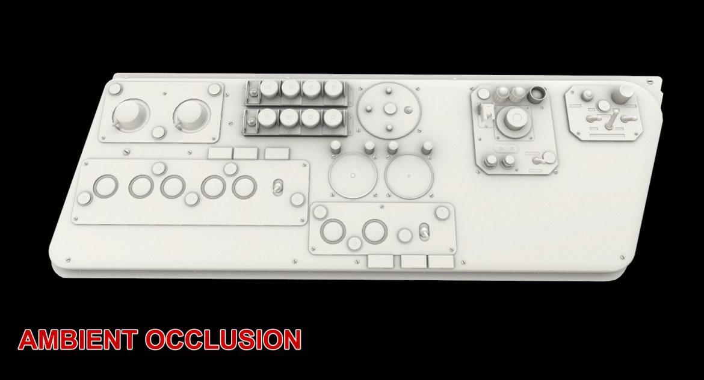 mi-8mt mi-17mt left side console russian 3d model 3ds max fbx obj 301573
