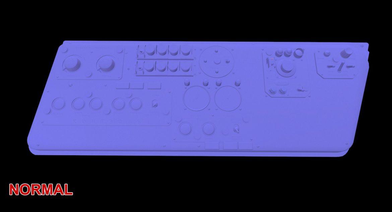 mi-8mt mi-17mt left side console russian 3d model 3ds max fbx obj 301575
