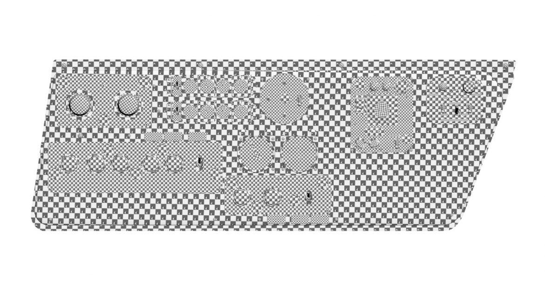 mi-8mt mi-17mt left side console russian 3d model 3ds max fbx obj 301578