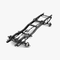 pickup truck chassis 4wd 3d model 3ds max fbx obj 301586