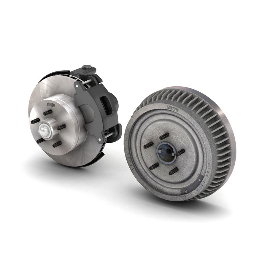 car and truck brake set 3d model 3ds max fbx obj 301593