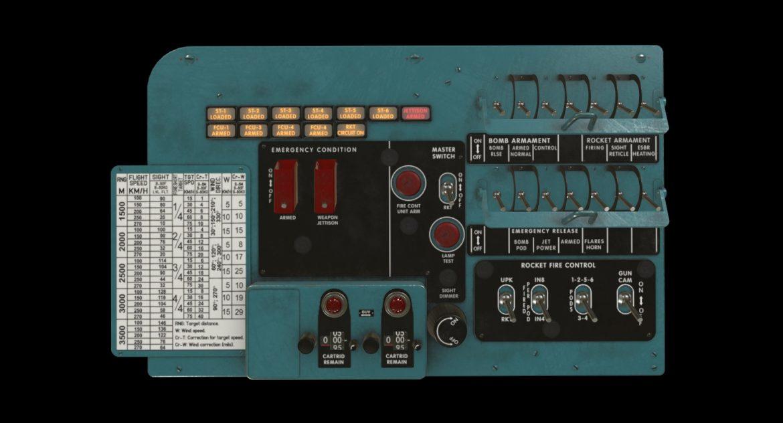 mi-8mt mi-17mt left circuit console english 3d model 3ds max fbx obj 301671