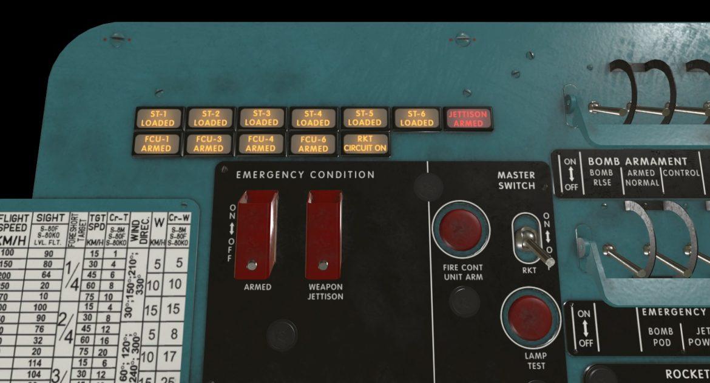 mi-8mt mi-17mt left circuit console english 3d model 3ds max fbx obj 301672