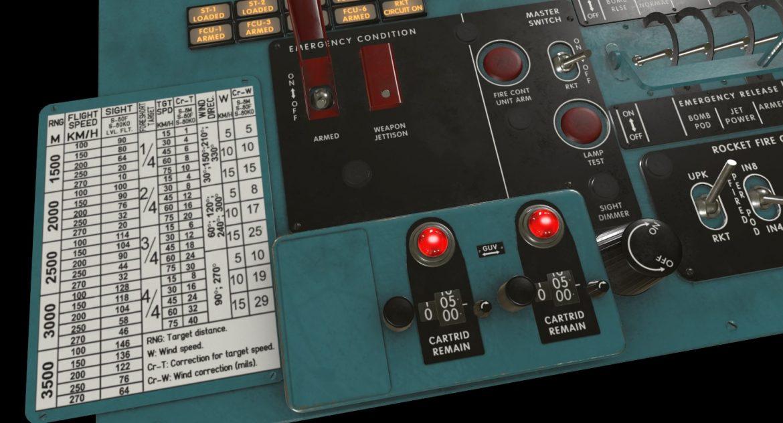 mi-8mt mi-17mt left circuit console english 3d model 3ds max fbx obj 301675
