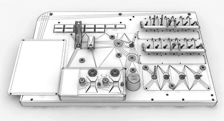 mi-8mt mi-17mt left circuit console english 3d model 3ds max fbx obj 301679