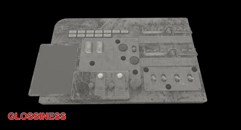 mi-8mt mi-17mt left circuit console english 3d model 3ds max fbx obj 301686