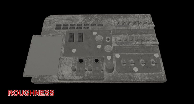 mi-8mt mi-17mt left circuit console english 3d model 3ds max fbx obj 301690