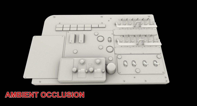 mi-8mt mi-17mt left circuit console english 3d model 3ds max fbx obj 301691