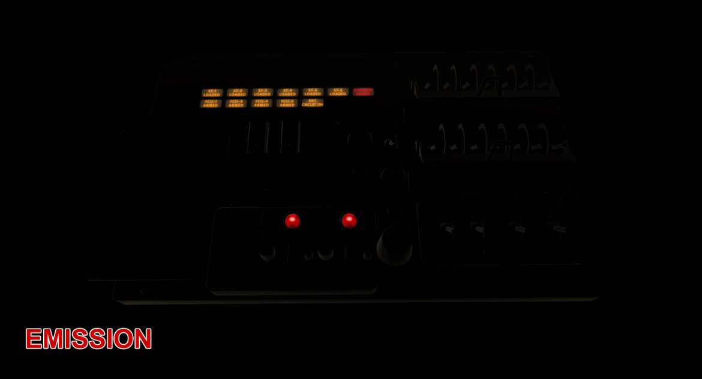 mi-8mt mi-17mt left circuit console english 3d model 3ds max fbx obj 301692