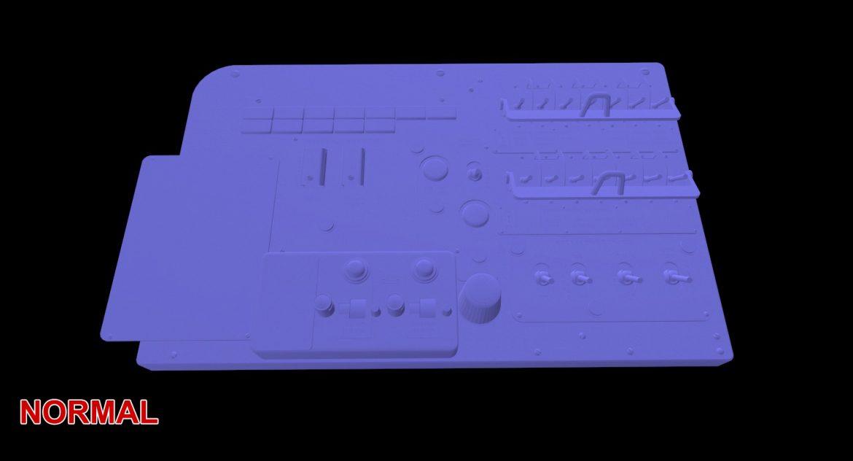 mi-8mt mi-17mt left circuit console english 3d model 3ds max fbx obj 301693