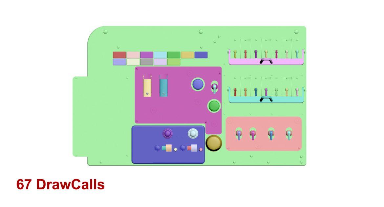 mi-8mt mi-17mt left circuit console english 3d model 3ds max fbx obj 301698