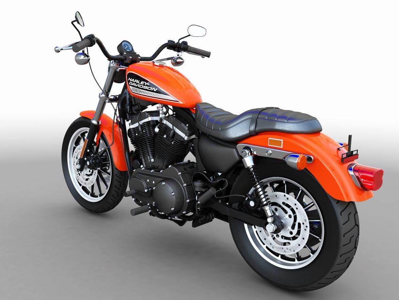 harley davidson sportster roadster model 3d max 301884