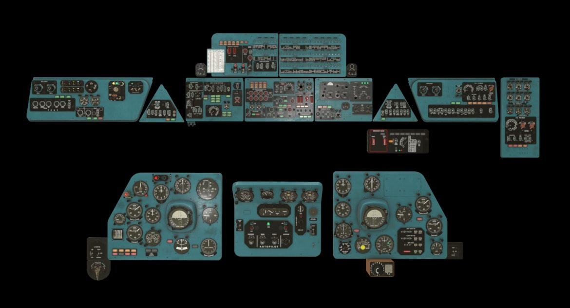 mi-8mt mi-17mt panel boards english 3d model 3ds max fbx obj 301953