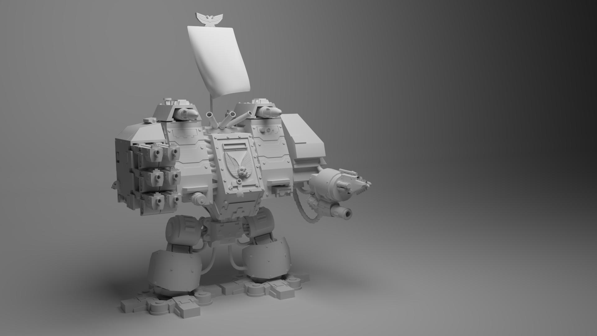 Warhammer 40k Ironclad Dreadnought