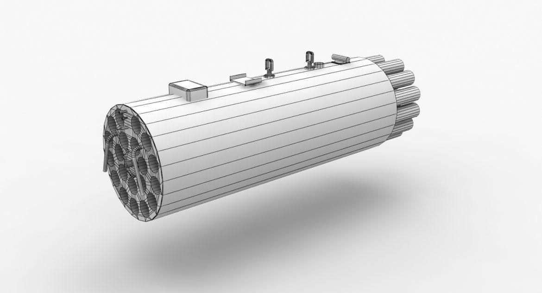 rocket launcher b-8v20a 3d model 3ds max fbx obj 302319