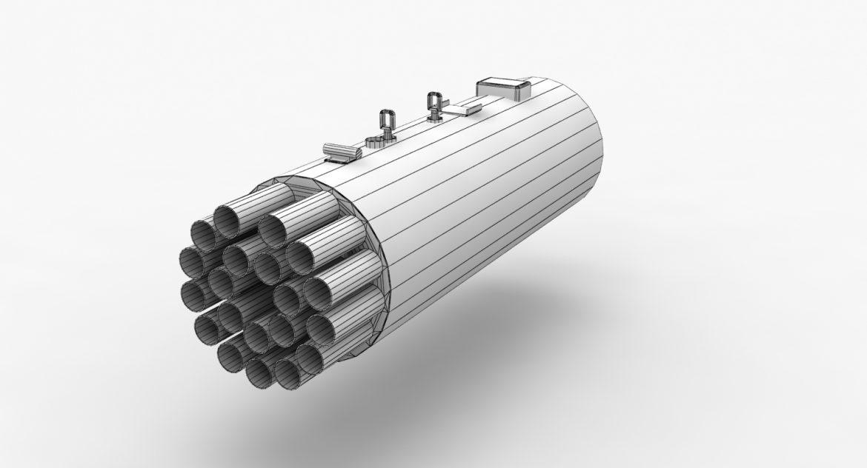 rocket launcher b-8v20a 3d model 3ds max fbx obj 302320