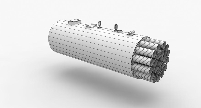 rocket launcher b-8v20a 3d model 3ds max fbx obj 302321