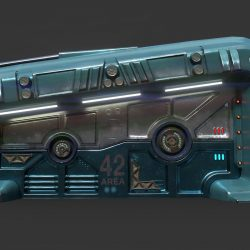 sci-fi durvis 06 3d modelis 3ds max fbx obj 302368