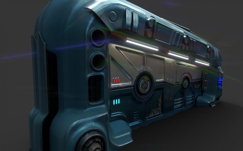 sci-fi door 06 3d model 3ds max fbx obj 302370