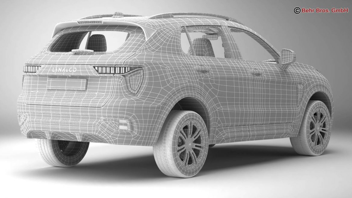 lynk & co 01 2018 3d model 3ds max fbx c4d lwo ma mb obj 302463