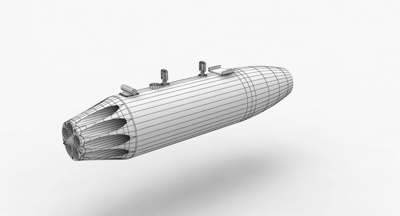 rocket launcher ub-16-57 3d model 3ds max fbx 302672