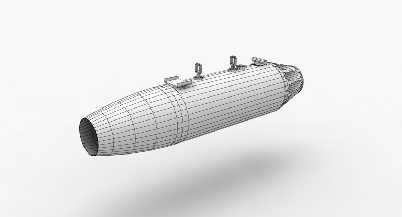rocket launcher ub-16-57 3d model 3ds max fbx 302673