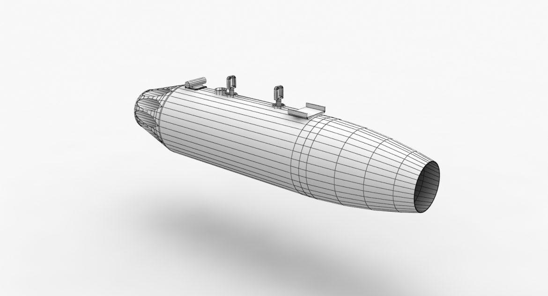 rocket launcher ub-16-57 3d model 3ds max fbx 302674
