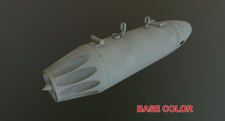 rocket launcher ub-16-57 3d model 3ds max fbx 302682