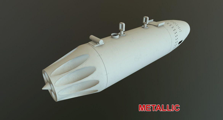 rocket launcher ub-16-57 3d model 3ds max fbx 302684