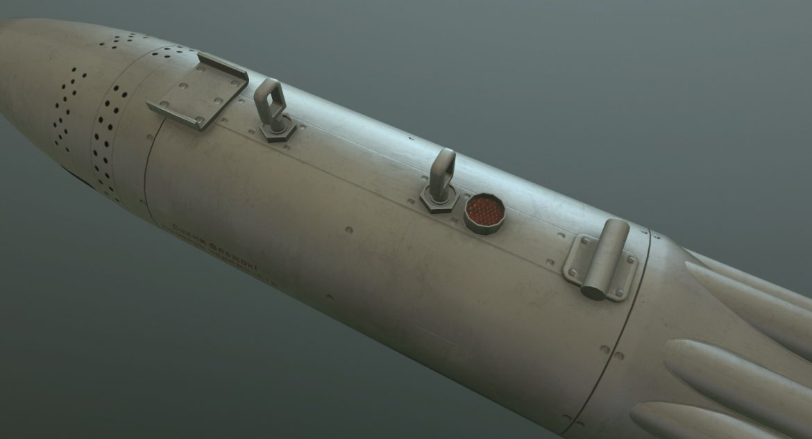 rocket launcher ub-16-57kv 3d model 3ds max fbx obj 302701